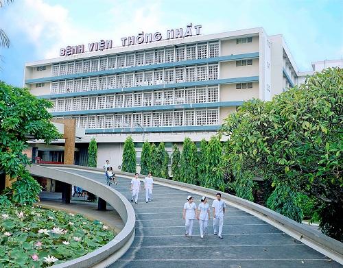 Kết quả hình ảnh cho Bệnh viện Thống Nhất